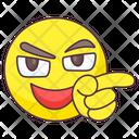 Accusing Finger Emoji Icon