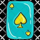 Ace Spade Gambling Icon