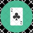 Ace Club Card Icon