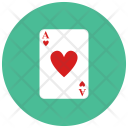 Ace Heart Card Icon
