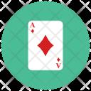 Ace Diamond Card Icon