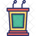 Ace Attorney Courtroom Furniture Courtroom Podium Icon