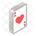 Ace Of Heart Heart Card Gambling Icon