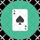 Ace Spade Card Icon