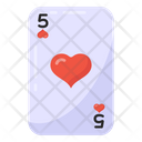 Casino Card Heart Card Ace Of Heart Icon