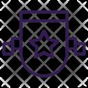Acheivement Awards Shield Icon