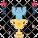 Achieve Winner Trophy Icon