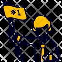 Achievement Flag Goal Icon