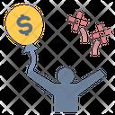 Achievement Financial Freedom Profit Icon