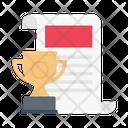 Achievement Degree Report Icon