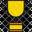Achievement Trophy Winner Icon