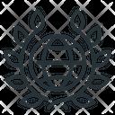Achievement Laurels Wreath Icon