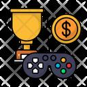 Money Making Gaming Trophy Icon
