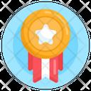 Honor Prize Emblem Icon