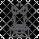Achievement Trophy Winner Trophy Award Icon