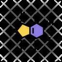 Acid Molecule Uric Acid Icon