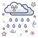 Nuclear Rain Acid Rain Heavy Rain Icon