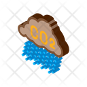 Acid Rain Climate Icon