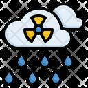 Acid Rain Chemical Rain Nuclear Rain Icon