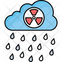 Acid Rain Danger Sign Danger Symbol Icon