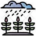 Acid Rain Rain Rainy Icon