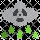 Acid Rain Co 2 Cloud Pollution Icon