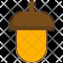 Acorn Oak Nut Icon