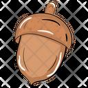 Acorn Oak Tree Nut Icon