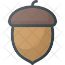 Acorn Nut Fall Icon