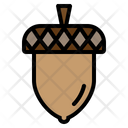 Acorn Autumn Fall Icon