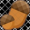 Acorn Food Fruit Icon