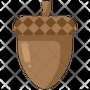Acorn Oak Squirrel Icon