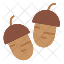 Acorn Oak Nut Icon