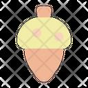 Acorn Oak Nature Icon