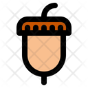 Thanksgiving Acorn Nut Icon
