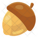 Acorn Oak Fruit Healthy Food Icon