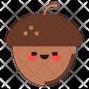 Acorn Nut Autumn Icon