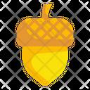 Acorn Oak Autumn Icon