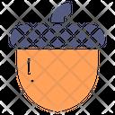 Acorn Food Nature Icon