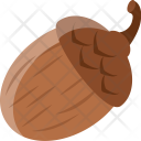 Acorn Oak Tree Icon