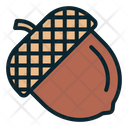 Oak Autumn Seed Icon
