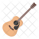 Acoustic Guitar Electric Icon