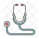 Acoustic Stethoscope Heart Icon