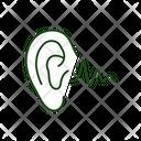 Ear Noise Acoustic Icon