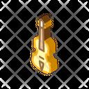 Acoustic Violin String Icon