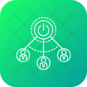 Acquisition Analytics Chart Icon