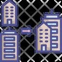 Acquisition Business Collaborate Icon