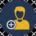 Acquisition Add Person Add User Icon