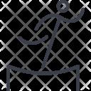 Equilibrist Tent Acrobat Icon