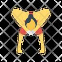 Acrobat Circus Party Icon